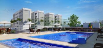 Arte de uma área comum com piscina de condomínio para a pauta Locação por temporada gera polêmica em condomínios para o Blog da Estasa