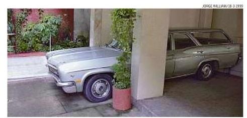 """Foto de um Impala Station Wagon 1966 para a pauta """"Vagas de Garagem: Problemas para o condomínio!"""" para o Blog da Estasa"""
